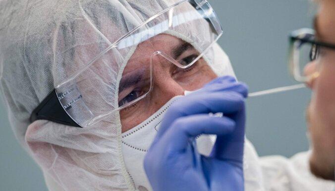 В Латвии в среду - 1270 новых случаев коронавируса, умерли семь человек; число госпитализированных снизилось