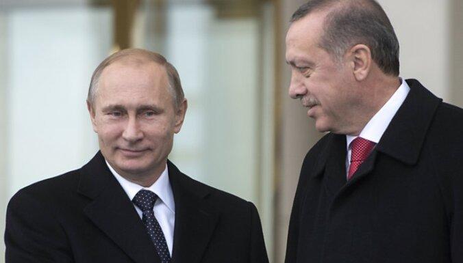 Путин и Эрдоган беседовали в три раза дольше, чем планировалось