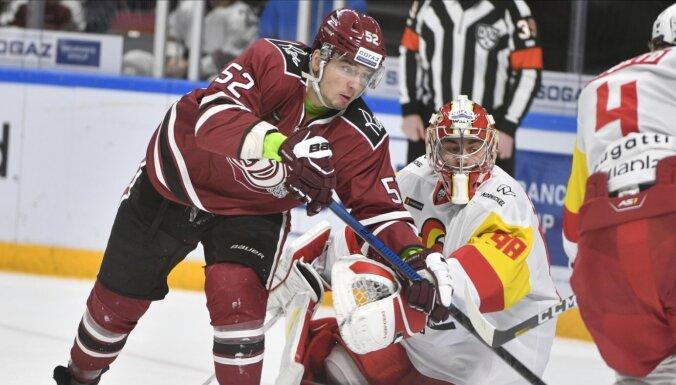Rīgas 'Dinamo' pret Kalniņa 'Jokerit' vairīsies no desmitā zaudējuma pēc kārtas