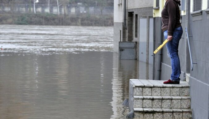 В Риге готовятся к возможному наводнению