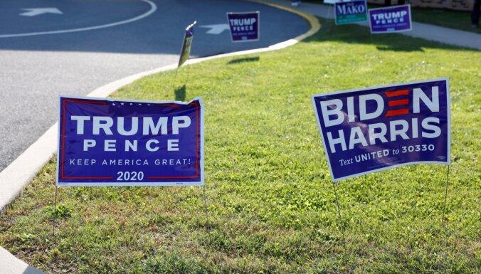 ASV Augstākā tiesa noraida republikāņu prasību nekavējoties apturēt balsu skaitīšanu Pensilvānijā