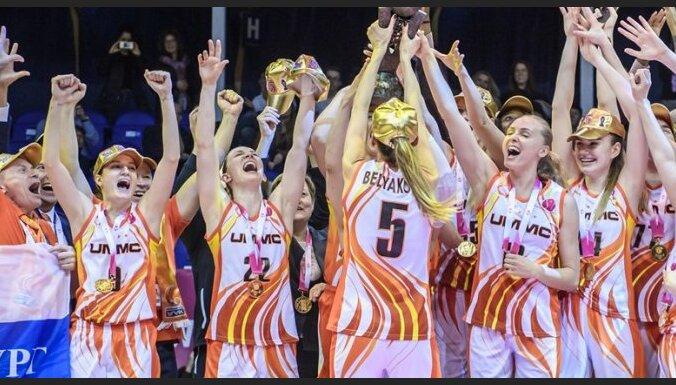 Jekaterinburgas UGMK basketbolistes nosargā FIBA Eirolīgas čempioņu troni