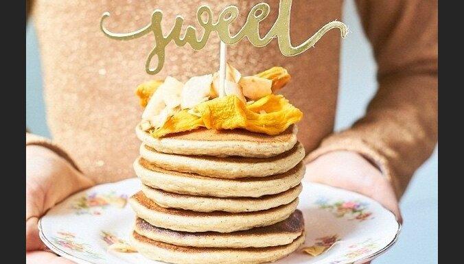 Gaisīgās un sulīgās brokastu pankūkas