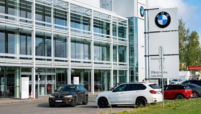 'Inchcape' stiprina BMW pozīcijas un plāno strauju 'Land Rover' izaugsmi Baltijā
