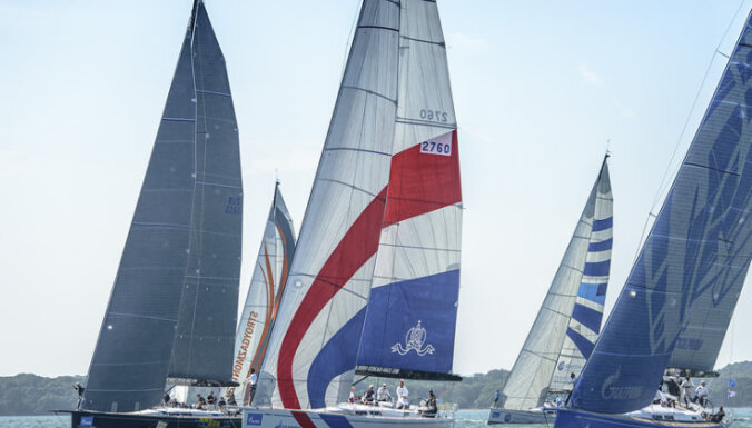 Яхтсмен из Латвии победил на престижной регате