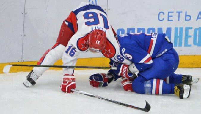 Geoff Platt CSKA vs SKA Sergey Shirokov