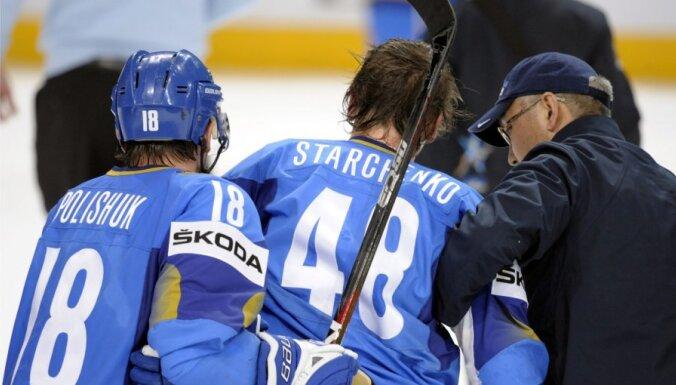 IIHF uz četrām spēlēm diskvalificē francūzi Treiji