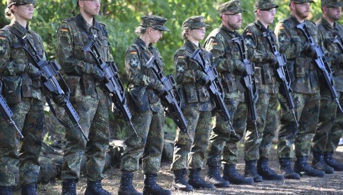 Pret Vācijas ģenerālmajoru sākta izmeklēšana par aicinājumu karavīriem neatbalstīt AfD