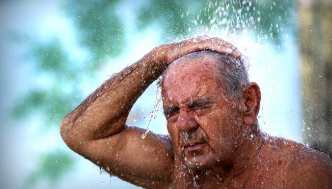В Греции установлен новый европейский рекорд жары — почти 46 градусов