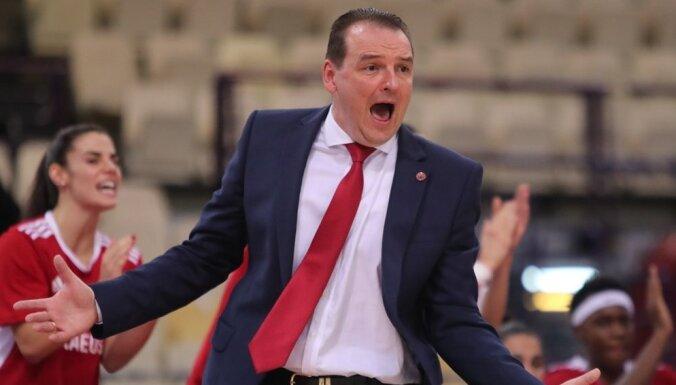 Vītolas un Zībarta 'Olympiakos' sāk FIBA Eirokausu ar uzvaru