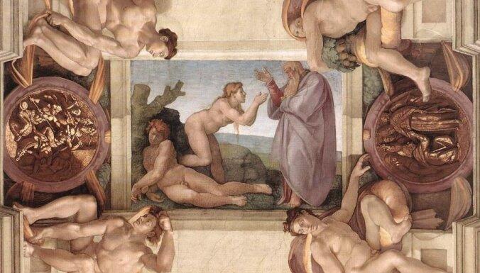10. novembris vēsturē: Ādams un Ieva izdzīti no Paradīzes