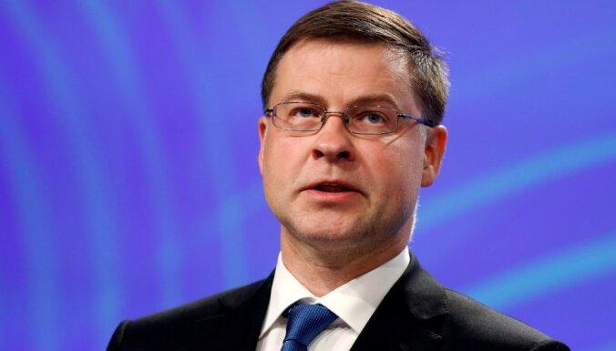 Dombrovskis sarunā ar 'Delfi': precīzu 'Brexit' ietekmi uz ES ekonomiku vēl prognozēt nevar