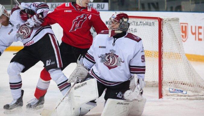 Janis Kalnins, Dinamo Riga - Metallurg Novokuznetck