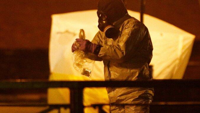 Pagarina par ķīmisko ieroču izmantošanu Krievijai noteiktās ES sankcijas