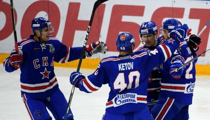 SKA un CSKA komandas sasniedz Rietumu konferences pusfinālu