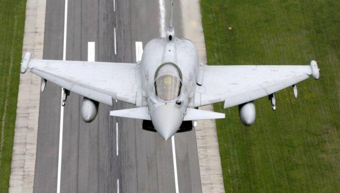 Пилоты ВВС Италии впервые будут охранять воздушное пространство стран Балтии