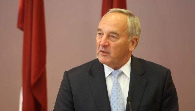 Андрис Берзиньш не назвал кандидата в премьер-министры