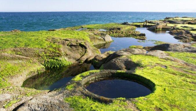 Kā uz citas planētas: vietas, kas pārsteidz ar neparastu ainavu