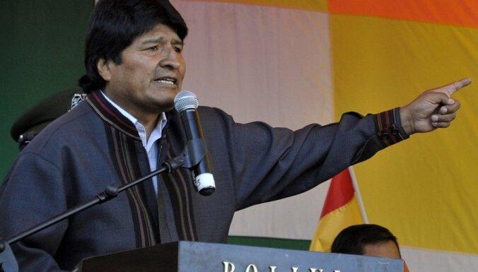 Bolīvija izraida ASV palīdzības organizāciju USAID
