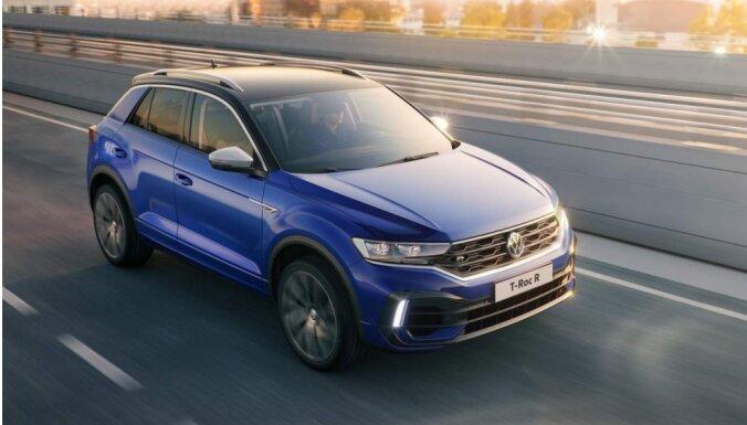 Sportiskais 'VW T-Roc R' apvidnieks līdz 'simtam' paātrinās 4,9 sekundēs