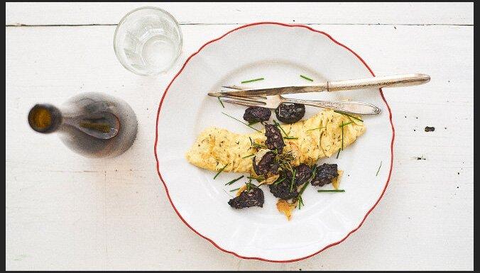Lauku omlete ar putraimdesu