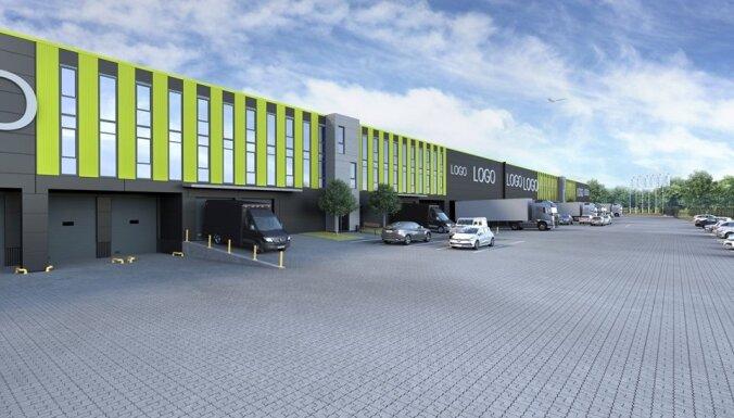 """Возле аэропорта """"Рига"""" появится новый индустриальный комплекс Green Park"""