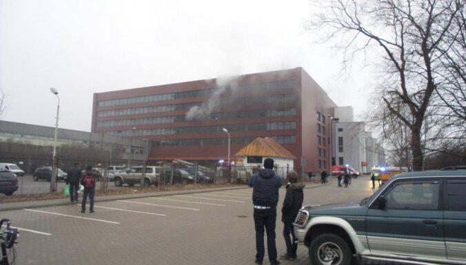 В здании магазина Prisma в Иманте произошло возгорание
