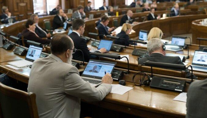 Atbalsta 'nulto' līmeni; būs Ropažu novads – ko lēmusi Saeima novadu reformā (plkst. 17.20)