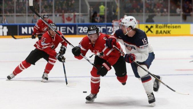 ВИДЕО: В Питере чемпионы мира канадцы обыграли американцев, а финны — белорусов