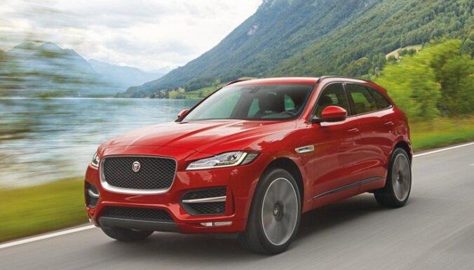 'Jaguar' pirmais sērijveida apvidus auto 'F-Pace'