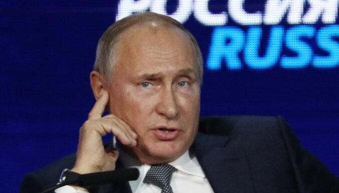В России снизилась доля симпатизирующих Путину