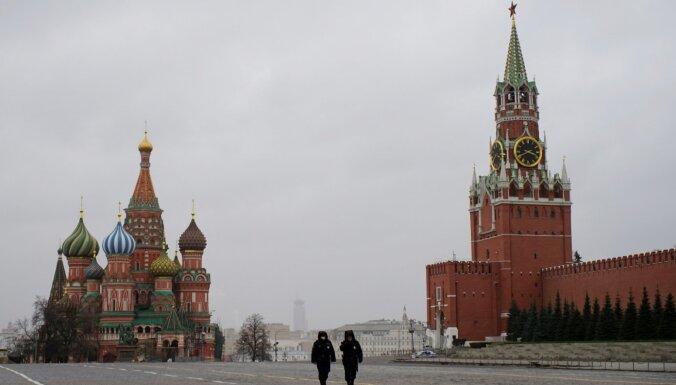 Krievijā jauno Covid-19 gadījumu skaits strauji pieaudzis par teju 1000