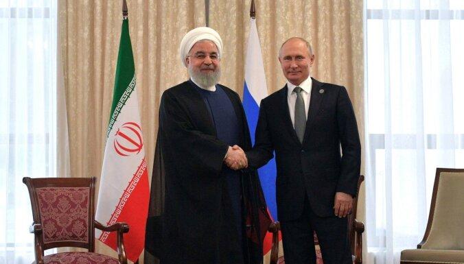 Krievija piegādās Irānai modernu satelīta sistēmu, ziņo medijs