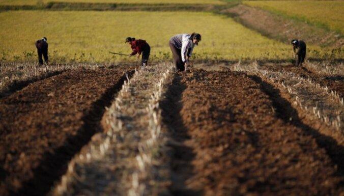Ziemeļkoreja saskaras ar pārtikas trūkumu, atzīst augsta ranga amatpersona