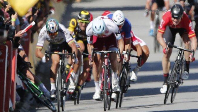 """ВИДЕО: За что двукратного чемпиона мира исключили из """"Тур де Франс"""""""