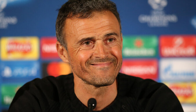 Enrike kļuvis par Spānijas futbola izlases galveno treneri