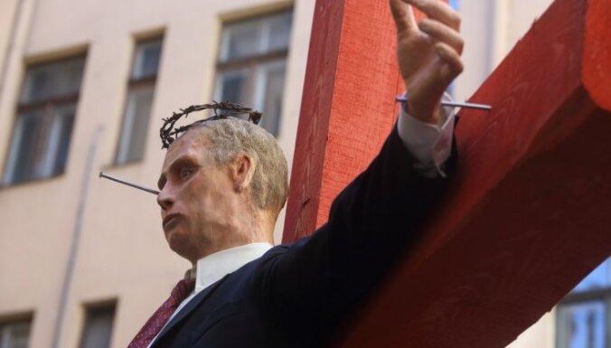"""Выставку """"Диссидент"""" откроют вновь; нападавших было пятеро"""