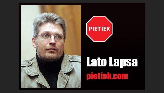 Lato Lapsa: Ir taču zināms, ka Vaškevičam un Vilkastei ir jāsēž