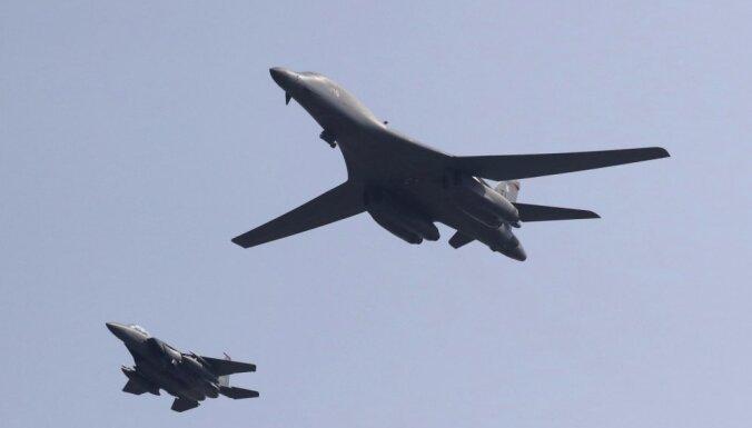 Бомбардировщики США пролетели вблизи границ Северной Кореи