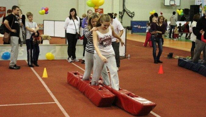Приглашают всех на семейный спортивный фестиваль в Риге
