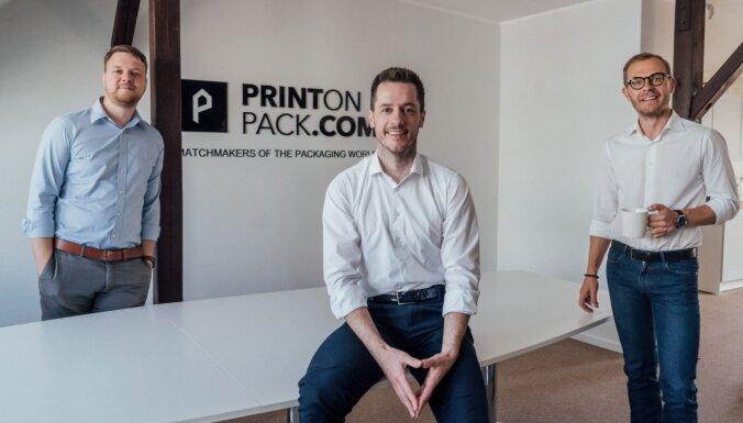 Latvijas jaunuzņēmums 'PrintOnPack.com' piesaistījis 450 000 eiro investīcijas