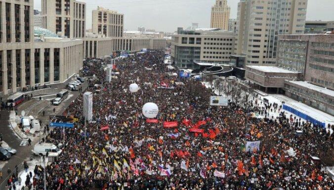 Maskavas dome apstiprina opozīcijas gājienu 4. februārī
