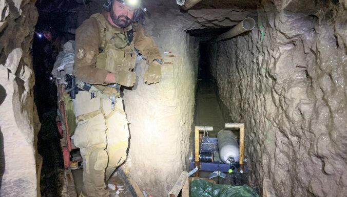 Самый длинный контрабандный туннель обнаружен на границе США и Мексики