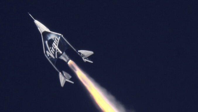 Миллиардер Брэнсон отправляется в космос на своем ракетоплане