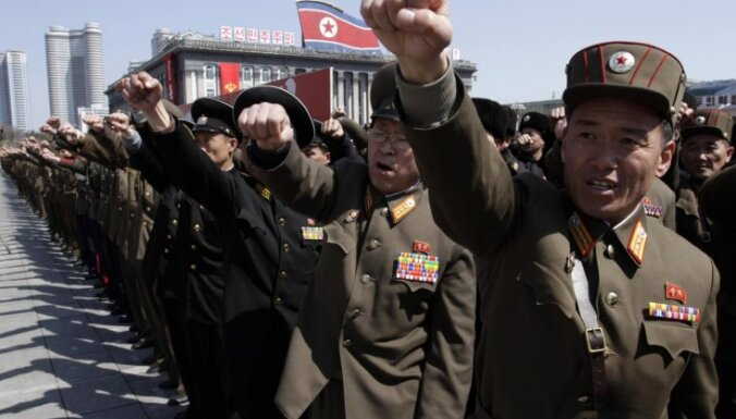 Ziemeļkorejā iebraucējiem noteiks trīs nedēļu ilgu Ebolas vīrusa karantīnu