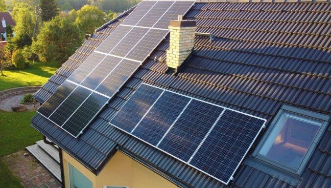 'Enefit' plāno šogad trīskāršot uzstādīto saules enerģijas risinājumu jaudu