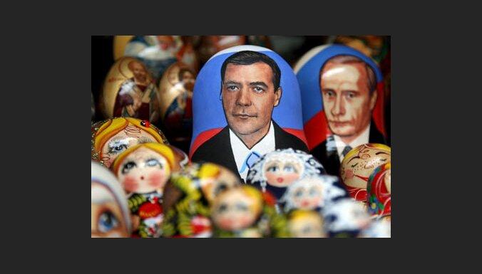 Laikraksts: Medvedevs ir īsākais prezidents pasaulē