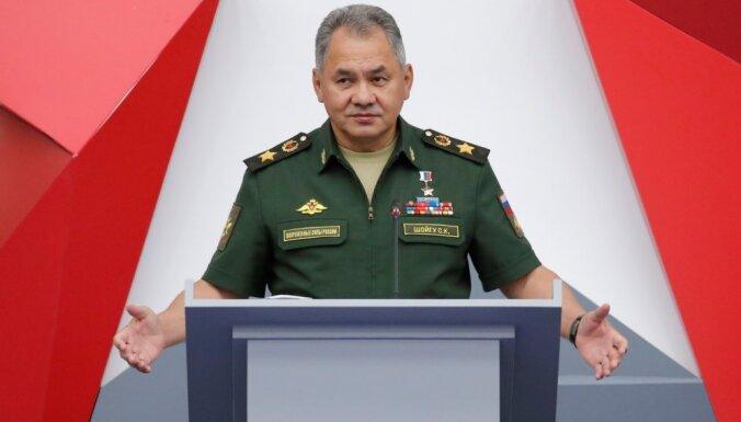 Krievija: Sīrijas ziemeļos pabeigta kurdu spēku atvilkšana