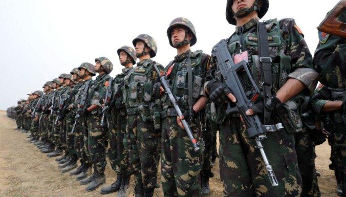 Ķīna noliedz armijas daļu nosūtīšanu uz Ziemeļkoreju
