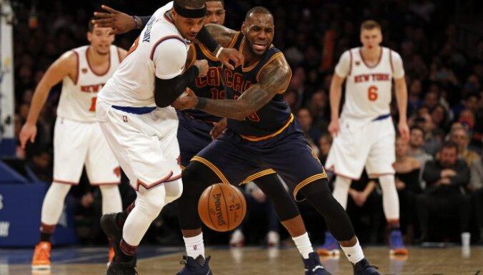 Knicks Carmelo Anthony, Cleveland Cavaliers LeBron James